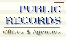 Public Records Offices and Agencies